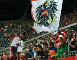 Fußballfans im Tivolistadion