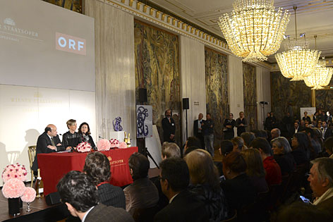 Opernball 2014 Pressekonferenz