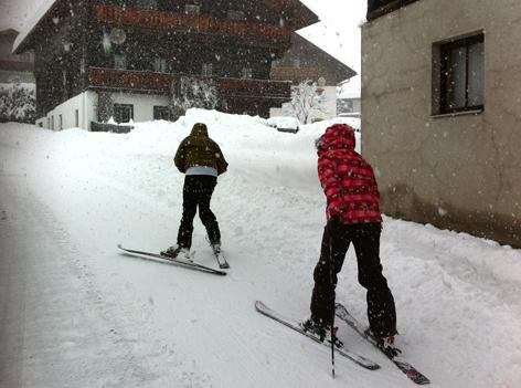 Skifahren in Lienz