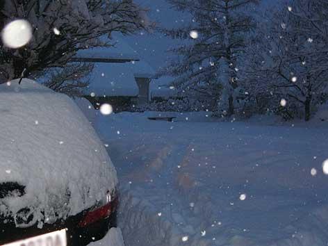 Schnee Früh Treffen