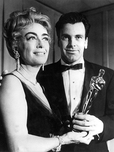 Joan Crawford und Maximilian Schell