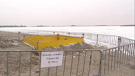Projekt der TU Wien am Zicksee