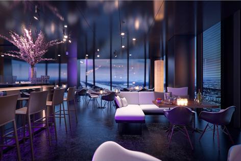 konkurrenz f r donauturm restaurant wien. Black Bedroom Furniture Sets. Home Design Ideas