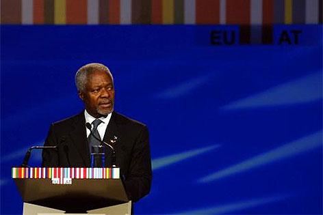 Ex-UNO- Generalsekretaer Kofi Annan