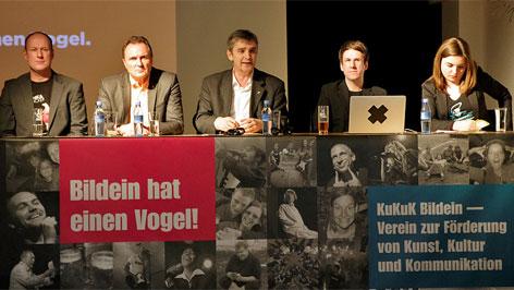 Pressekonferenz Foto