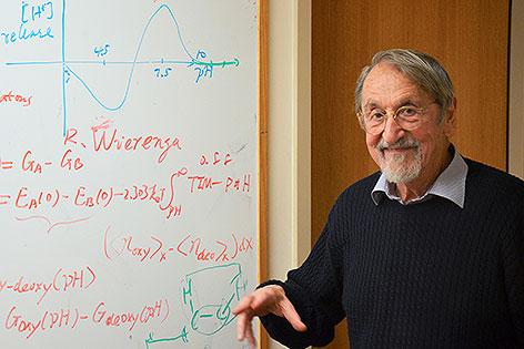 Chemie-Nobelpreisträger Martin Karplus