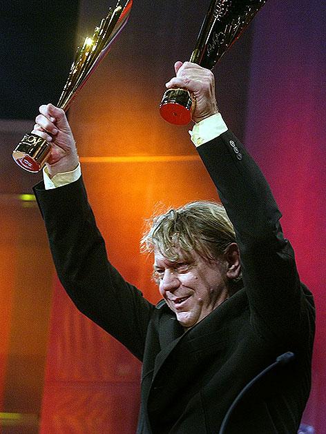 Johan Simons bei der Nestroy-Verleihung 2004
