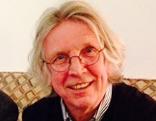 Gerhard Haderer (r.) mit ORF Wien-Redakteur Georg Holzer