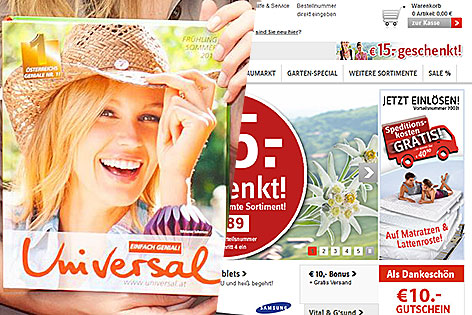 Sprung vom katalog zum onlinehandel komplett salzburg for Versand katalog