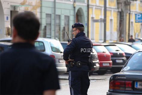 Mit Axt auf Polizei losgegangen