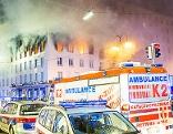 Brand am Hohen Markt in der Wiener Innenstadt
