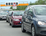 Stau auf Ostautobahn A4