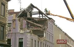 Eingestürztes Haus Mariahilfer Straße