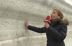 Glocknerstraße Schnee Barbara Weisl Durchstich