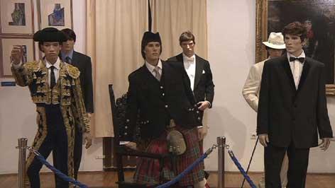 eksponati izložbe o kravati
