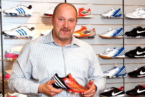 Sport-Eybl-Geschäftsführer Mike Weccardt