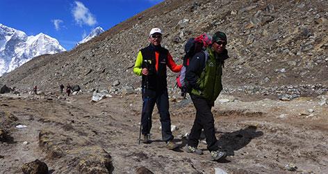Berühmte Felsnase am Everest-Gipfel abgebrochen