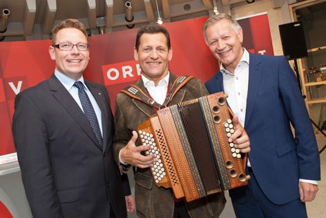LD Markus Klement, Franz Posch, LD Helmut Krieghofer