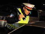 Schwerpunktkontrolle der Polizei