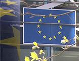 EU-Logo-Schild
