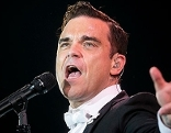Sänger und Entertainer Robbie Williams