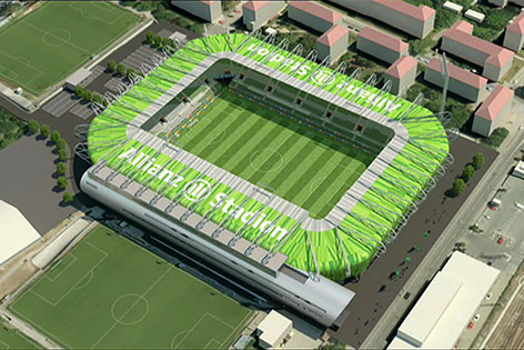 Neues Rapid-Stadion