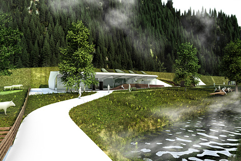 Landschaft Visualisierung
