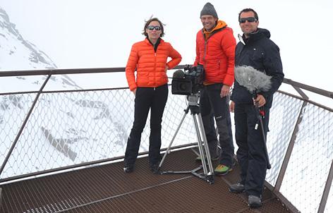 """Team des Films """"Bauen in den Bergen"""""""