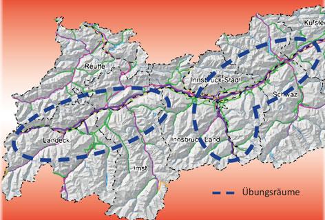 Übungsräume in Tirol