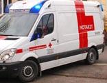 Rettung vor der Schule in Baden