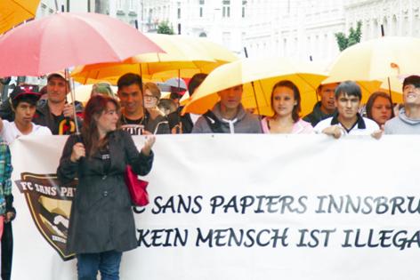 Umbrella March