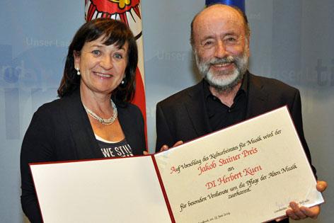 LR Palfrader und Herbert Kuen
