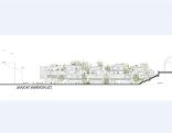 Das Modell des umgeplanten Rehrlplatz-Projektes