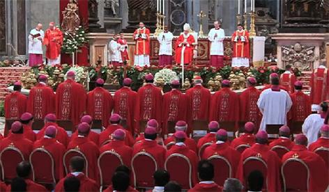 Papst Franziskus Erzbischof Franz Lackner Pallium Rom Vatikan Papa