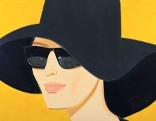 Alex Katz, Black Hat #2, 2010