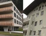 Die Krankenhäuser Zell am See (links) und Zell am See (rechts)