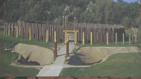 Rekunstruktion von Kreisgrabenanlage in Rechnitz