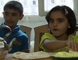 Syrische Flüchtlingskinder in der Erzabtei St. Peter