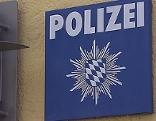 Schild Bayerische Polizei