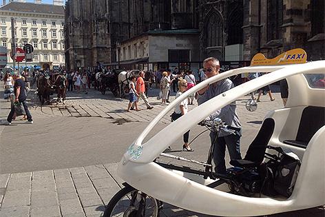 Fahrradtaxi Am Stephansplatz