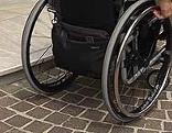 Barrierefrei Stufe Rollstuhl