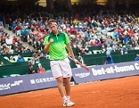 Dominik Thiem am Tennisplatz