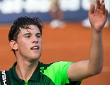 Dominic Thiem in Kitzbühel