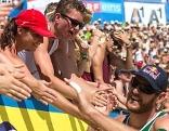 Beachvolleyball 2014 Finale Bilanz