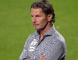Austria-Trainer Gerald Baumgartner bei der Bundesliga-Partie gegen Altach