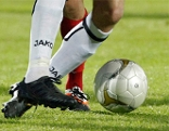 Sujet-BIld Fußball - LASK-Spieler bei Fußballspiel