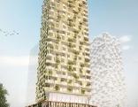 Hochhäuser Visualisierung