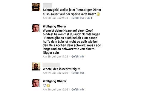Rassistischer Kommentar eines SPÖ-Gemeindevertreters in Oberndorf