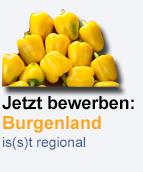 Burgenland is(s)t regional-Logo