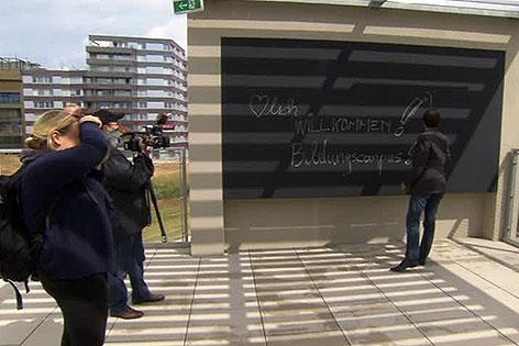 Bildungscampus Sonnwendviertel beim Hauptbahnhof